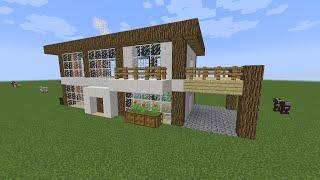 VFW - Minecraft ทดสอบสร้างบ้าน