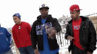 B DOUBLE E - Red and Blue KU (Official Music Video)
