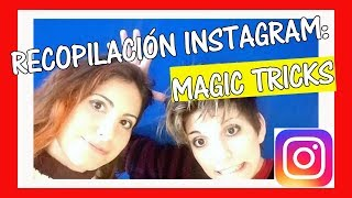 🎥 Trucos de MAGIA INSTAGRAM compilation #2 @ndelmago. Dúo de magas en España.