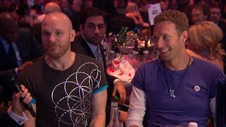 Ant and Dec interview Coldplay l The BRIT Awards 2016