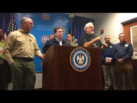 Gov. John Bel Edwards provides update on Louisiana's response to Tropical Storm Harvey.