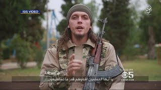 ISIS Video Calls For San Francisco, Las Vegas Attacks(A new pro-ISIS video calls for terrorism in San Francisco and Las Vegas. Melissa Caen reports. (6/27/16) Official Site: http://cbssf.com/ YouTube: ..., 2016-06-28T13:50:24.000Z)