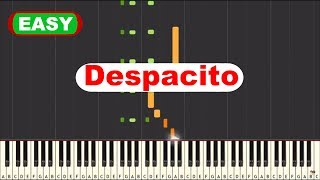 [EASY] Despacito by Luis Fonsi Ft. Daddy Yankee [SYNTHESIA]