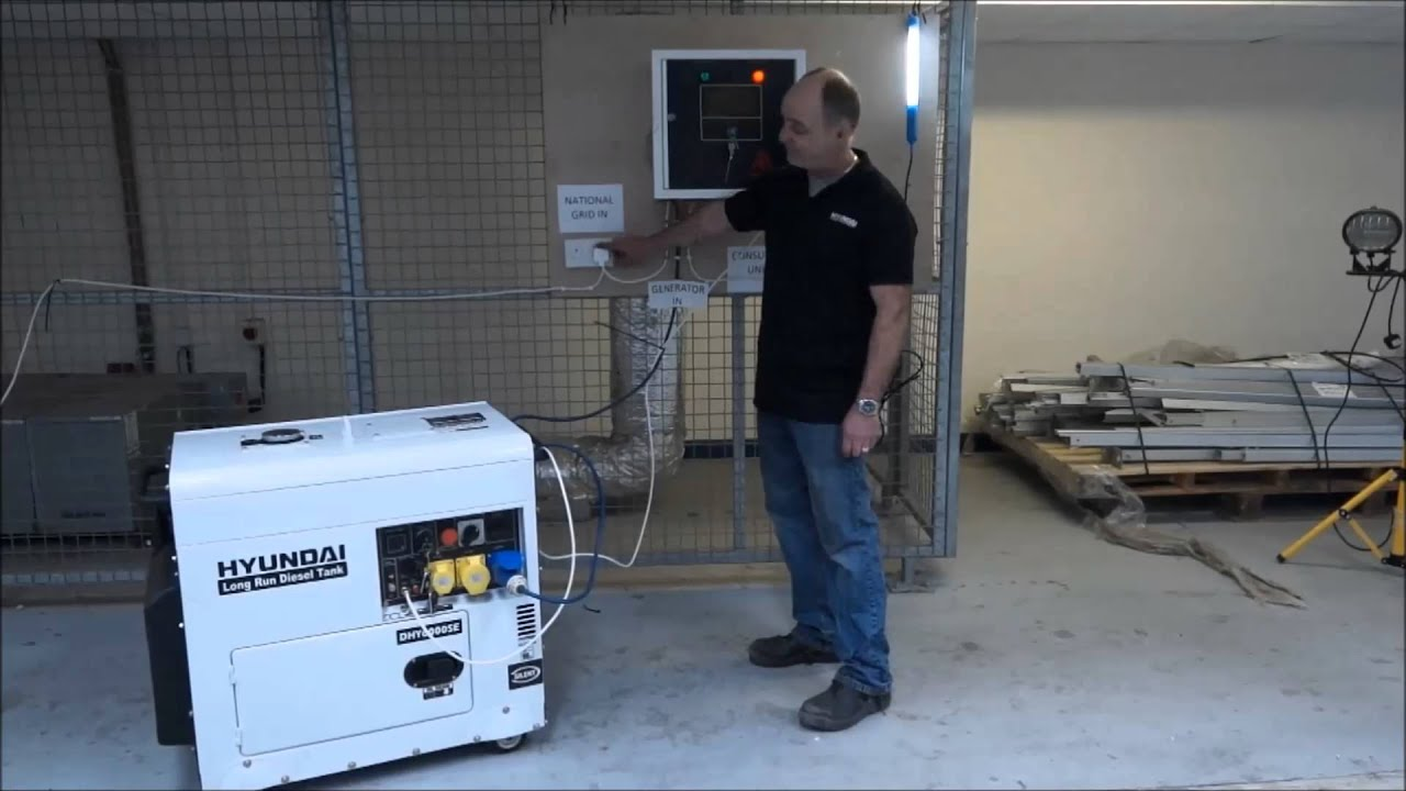 How an Automatic Transfer Switch (ATS) Works with a Generator  YouTube