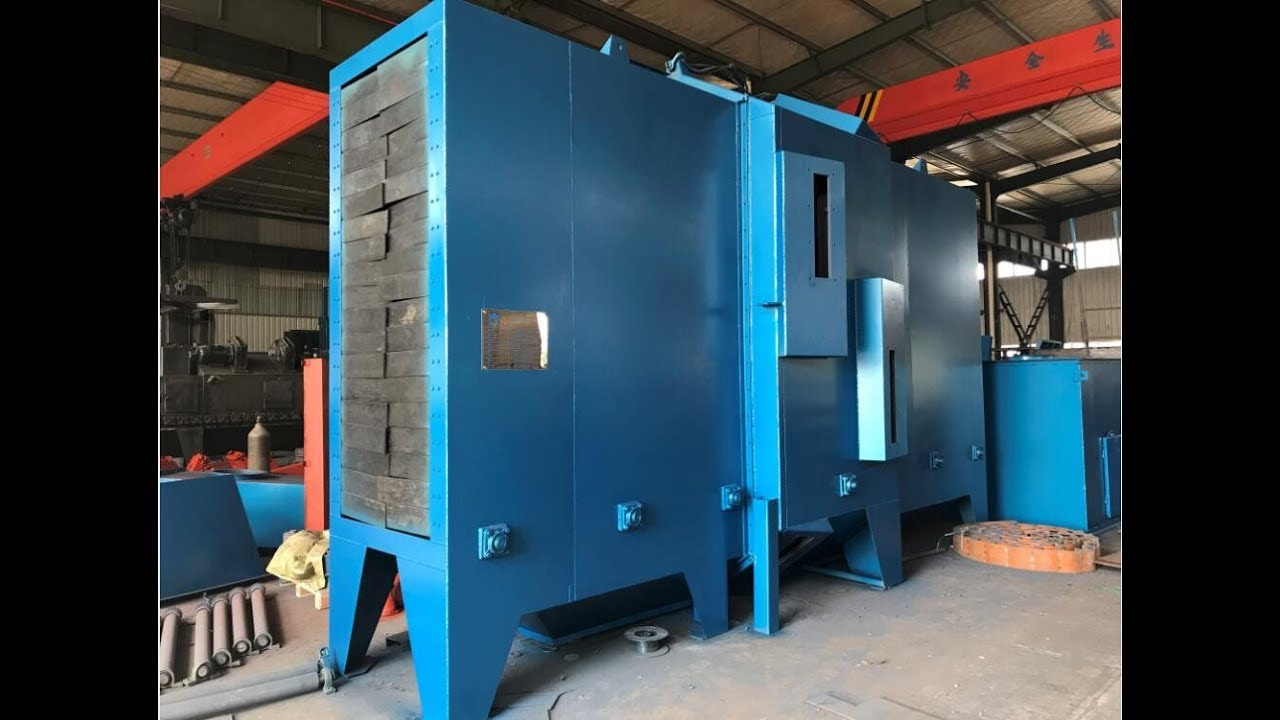 H Beam Shot Blasting Machine 2