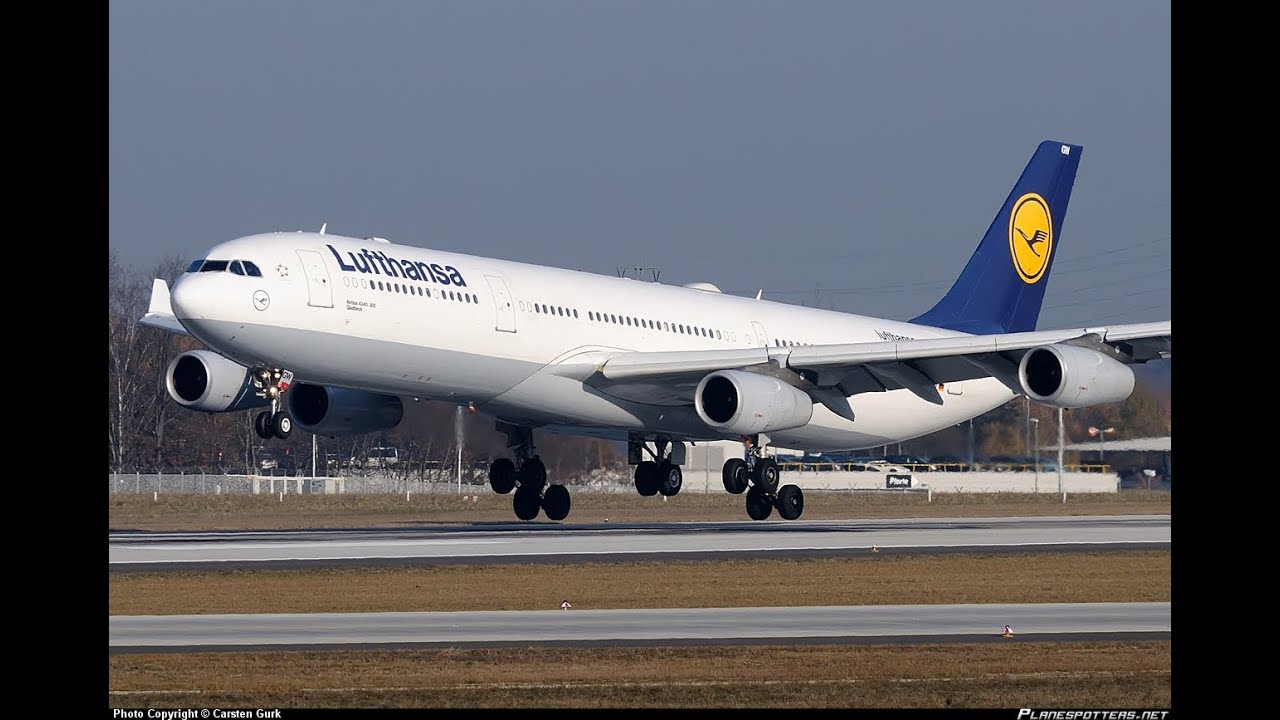 lufthansa wallpaper a340