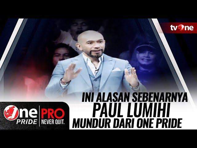 TERKUAK! Ini Alasan Sebenarnya Paul Lumihi Mundur dari One Pride MMA