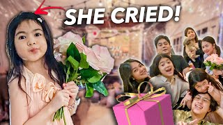 Surprising NATALIA On Her BIRTHDAY!! (Emotional) | Ranz and Niana