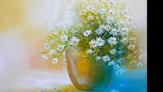 Научиться рисовать цветы (ромашки,акрил)(http://sovetmasterov.ru/?p=370 В уроке демонстрируется поэтапное создание небольшой картины. Вы сможете наглядно увидет..., 2013-06-02T05:55:59.000Z)