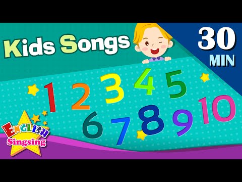 123 Number Song, Sports Song +More Kids Songs  Learn English for Kids  Collection of Words Songs