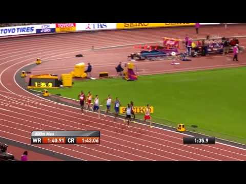 Adam Kszczot 800m półfinał Mistrzostw Świata Londyn 2017