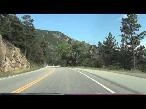 Car Camera - U.S. 36 - Estes Park to Lyons, CO . 2013 ( アメリカ国道36号線 )