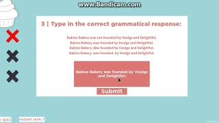 Bakiez Bakery - Roblox - Application Pass (réponses en description)