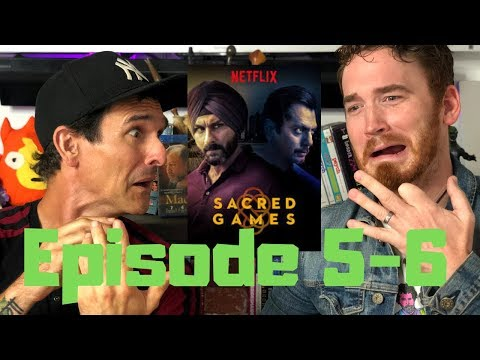 SACRED GAMES | Episode 5 - 8 DISCUSSION & REVIEW !!!!