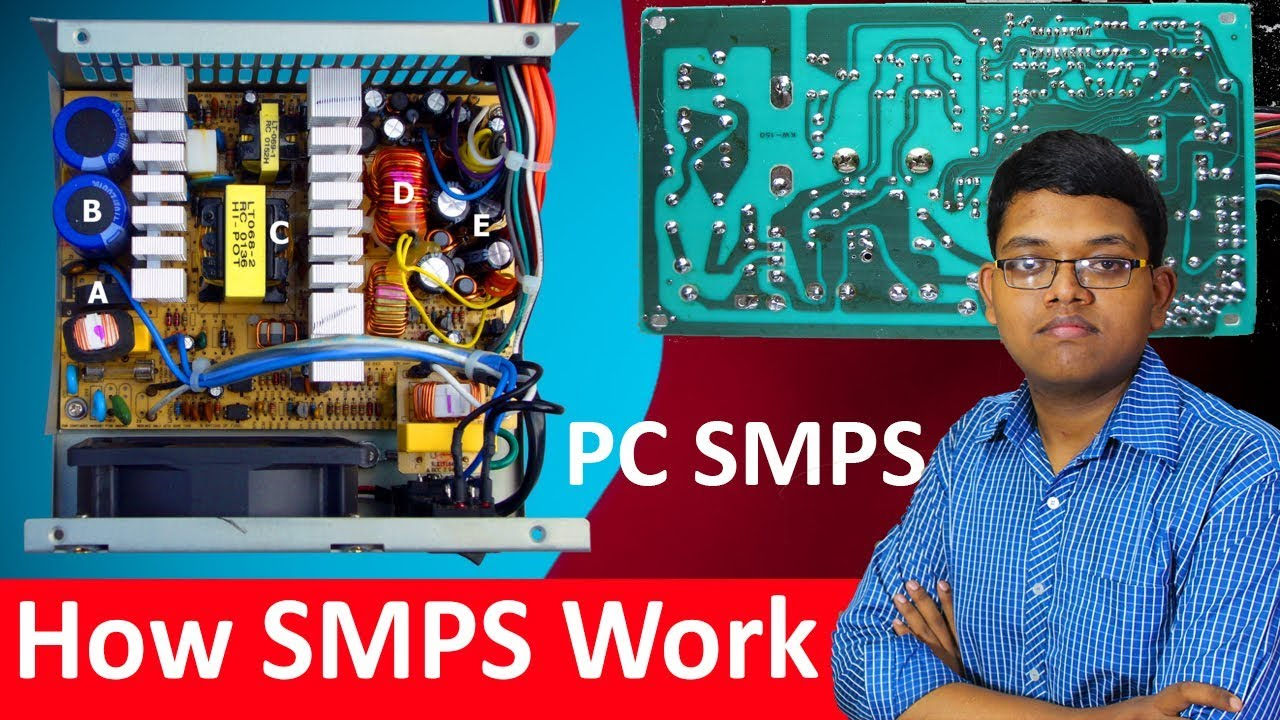 How Computer Smps Work Explained    How To Work Pc Smps