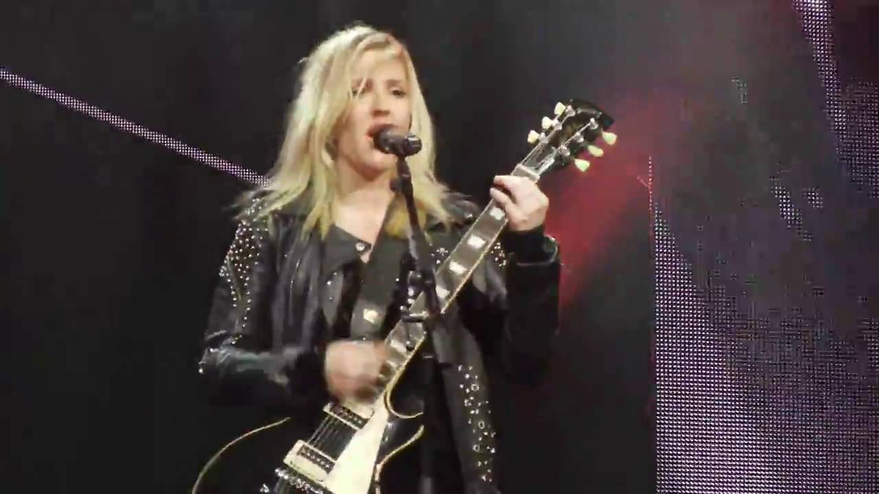 Ellie Goulding Figure 8 New York City Live 2016 YouTube