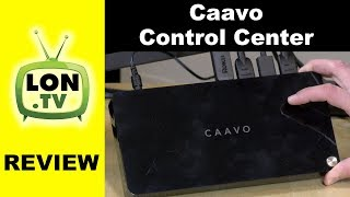 Caavo Control Center Review - $99 Universal Remote Control for TV / Home Theater / Set Top Boxes