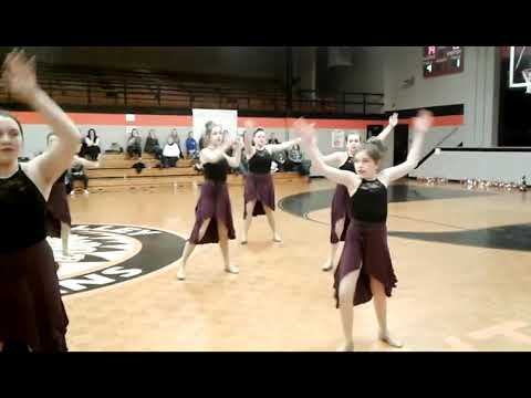 Powell Valley Middle School Dance Team x264