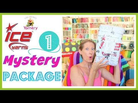 Ice Yarn Mystery Package - Yarn Unboxing Episode 1