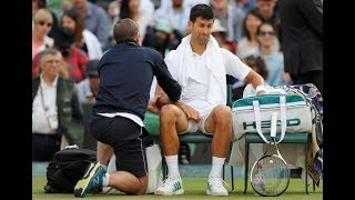 Wimbledon: Andy Murray and Novak Djokovic in shock exits