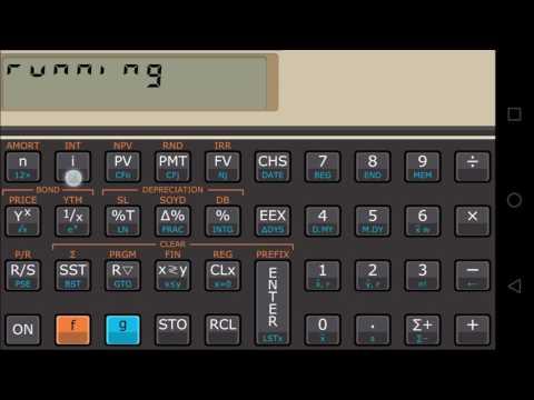 calculadora financeira 12c para android
