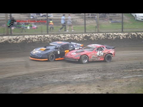 Pole shuffle for the top 8 qualifiers.Raced at Beachlands Speedway, Dunedin, New Zealand on Friday the 7th December 2018. - dirt track racing video image