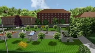 Ландшафтный дизайн центрального парка