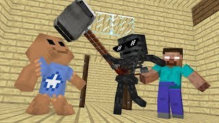 MONSTER SCHOOL :KICK THE BUDDY CHALLENGE - Minecraft Animation