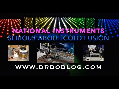 National Instruments - Serious about Cold Fusion