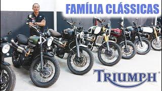 AS CLÁSSICAS DA TRIUMPH: estilo retrô com toques modernos - MOTO.com.br e China