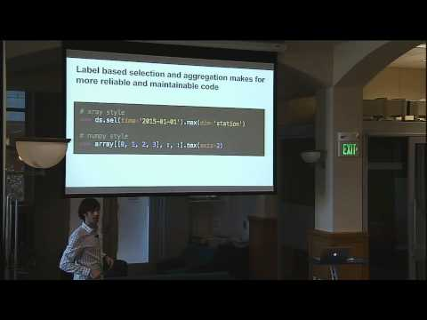 Multi-Dimensional Arrays for Big Labeled Data