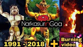 Zingaro Boys Narkasur Evolution 1991 - 2018 | Buring of Zingaro boys Narkasur 2018 | Narkasur Vadh