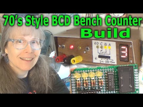 Fran's Retro Bench: BCD Clock Counter With Numitron