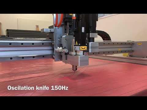 Řezání prepregu na CNC plotru