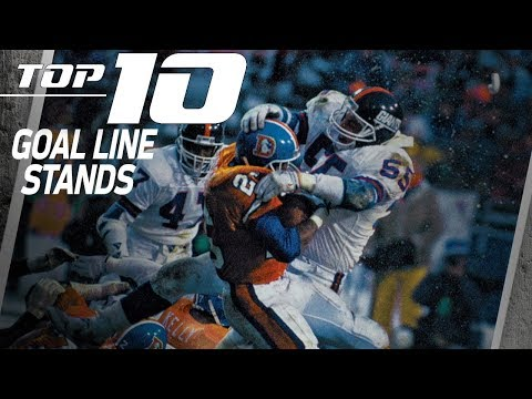 Top 10 Goal Line Stands | NFL Films