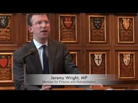 Jeremy Wright, MP speaks about Fine Cell Work at Middle Temple 17 June 2013
