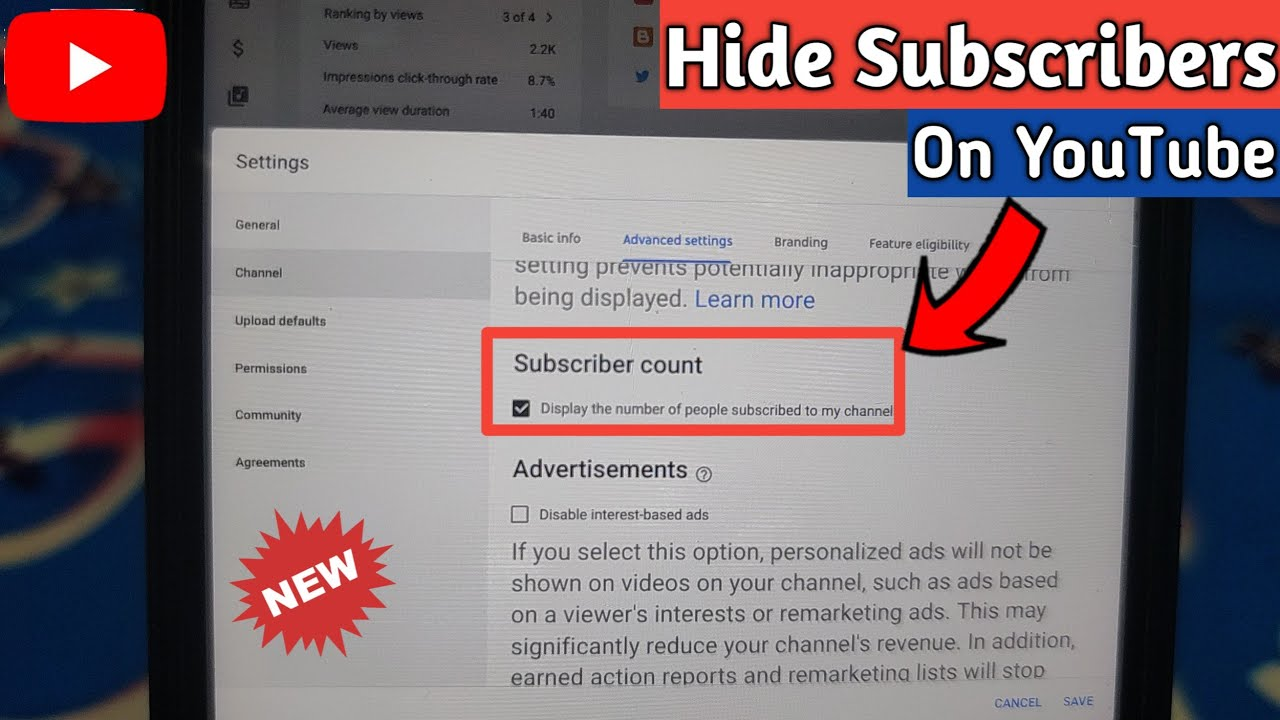 How to Hide Subscribers on YouTube on Mobile in 2020