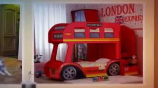 Двухъярусная кровать в виде автобуса в интернет магазине детской мебели Лайтик(, 2015-01-20T14:49:16.000Z)