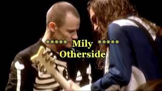 Red Hot Chili Peppers - Otherside  Subtitulado Español Ingles