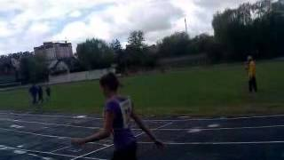 Обласні змагання естафети юнаки,дівчата