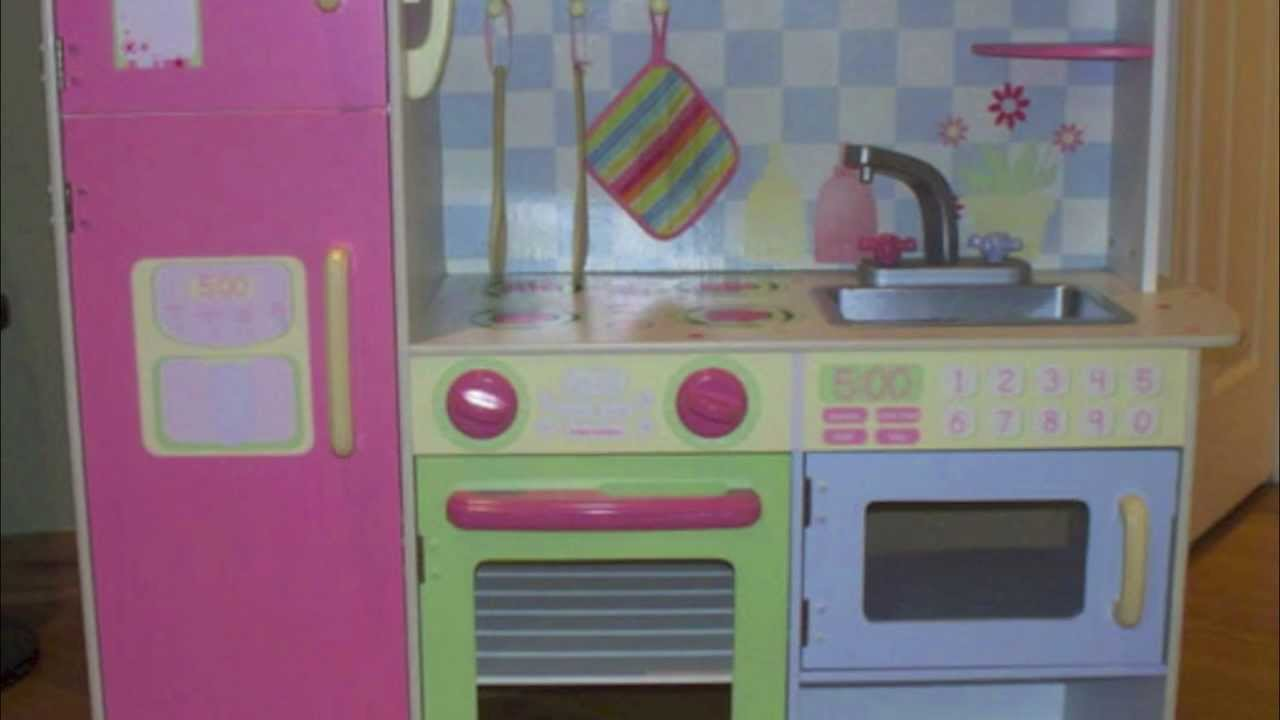 Best toy kitchen sets for kids from fisher price to for Fake kitchen set