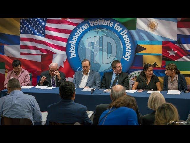 Foro: Transición a la democracia en Bolivia