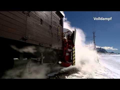 Volldampf 21: RhB Dampfschneeschleuder