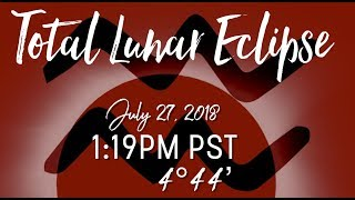 Total Lunar Eclipse in Aquarius July 27 2018 New Earth Portal Openning