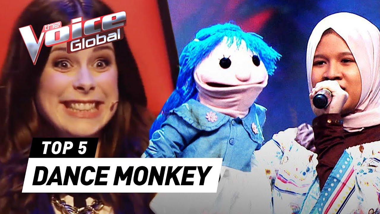 Best 'DANCE MONKEY' covers on The Voice Kids