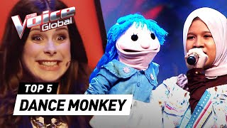 Download Best 'DANCE MONKEY' covers on The Voice Kids