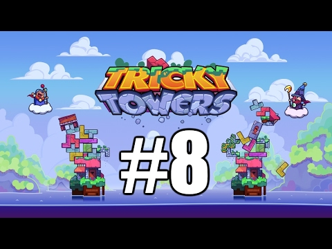 The FGN Crew Plays: Tricky Towers #8 - The Longest Race (PC)