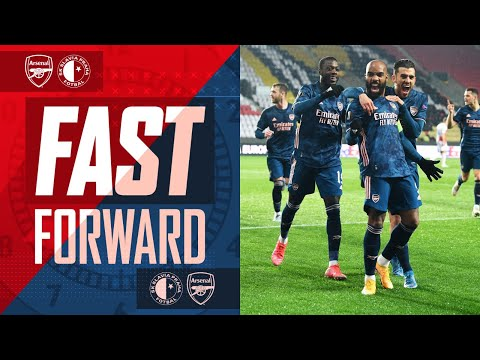 FAST FORWARD | The goals, the memes, the reactions | Arsenal vs Slavia Prague (5-1 on agg)