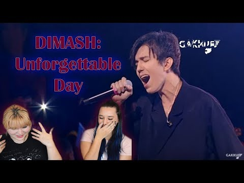 Dimash- Unforgettable Day Gakku Performance Reaction | We Became The Ghosts In Our House