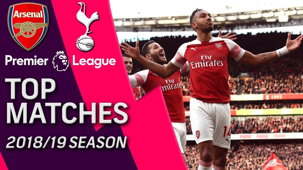 Arsenal v. Tottenham | Premier League's Top 5 Matches of 2018-2019 | 12/02/18 | NBC Sports